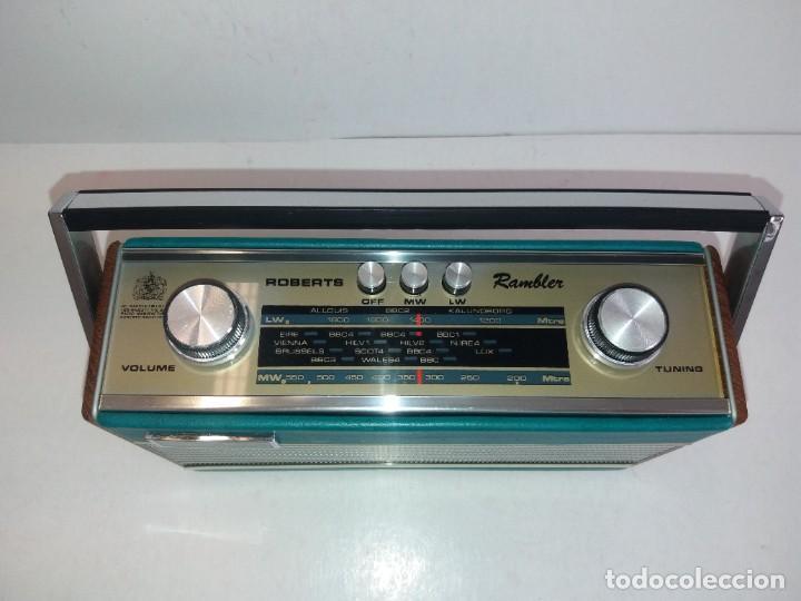 Radios antiguas: PRECIOSO RADIO TRANSISTOR RAMBLER VINTAGE AÑOS 60s - Foto 11 - 260093330