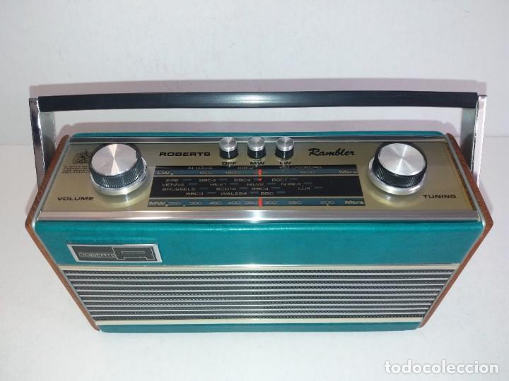 Radios antiguas: PRECIOSO RADIO TRANSISTOR RAMBLER VINTAGE AÑOS 60s - Foto 12 - 260093330