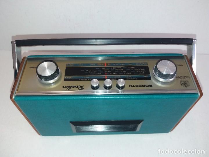 Radios antiguas: PRECIOSO RADIO TRANSISTOR RAMBLER VINTAGE AÑOS 60s - Foto 13 - 260093330