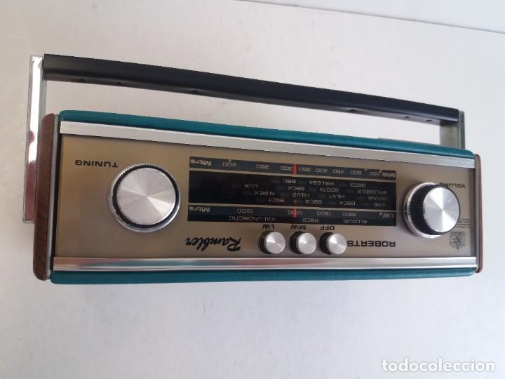 Radios antiguas: PRECIOSO RADIO TRANSISTOR RAMBLER VINTAGE AÑOS 60s - Foto 14 - 260093330