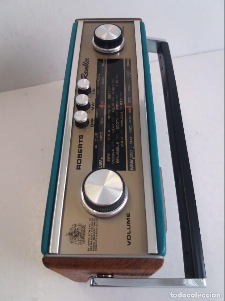 Radios antiguas: PRECIOSO RADIO TRANSISTOR RAMBLER VINTAGE AÑOS 60s - Foto 15 - 260093330