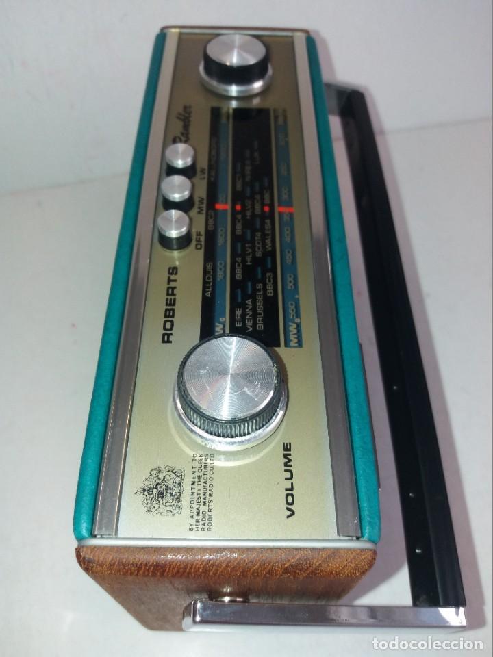 Radios antiguas: PRECIOSO RADIO TRANSISTOR RAMBLER VINTAGE AÑOS 60s - Foto 16 - 260093330