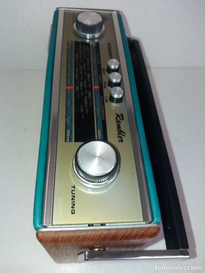 Radios antiguas: PRECIOSO RADIO TRANSISTOR RAMBLER VINTAGE AÑOS 60s - Foto 17 - 260093330