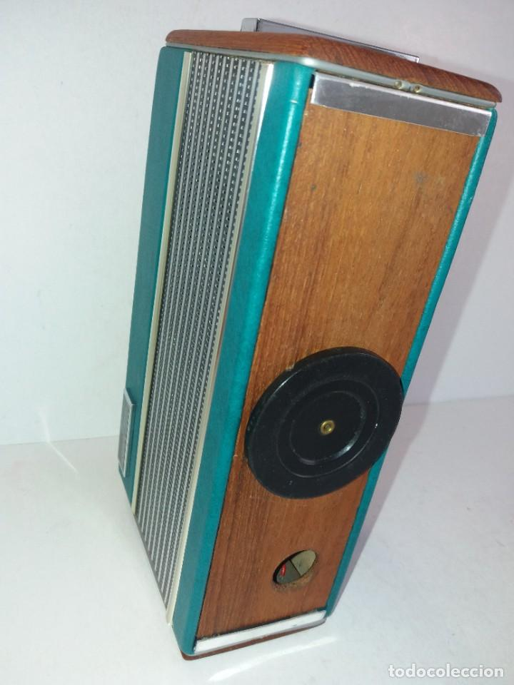 Radios antiguas: PRECIOSO RADIO TRANSISTOR RAMBLER VINTAGE AÑOS 60s - Foto 18 - 260093330