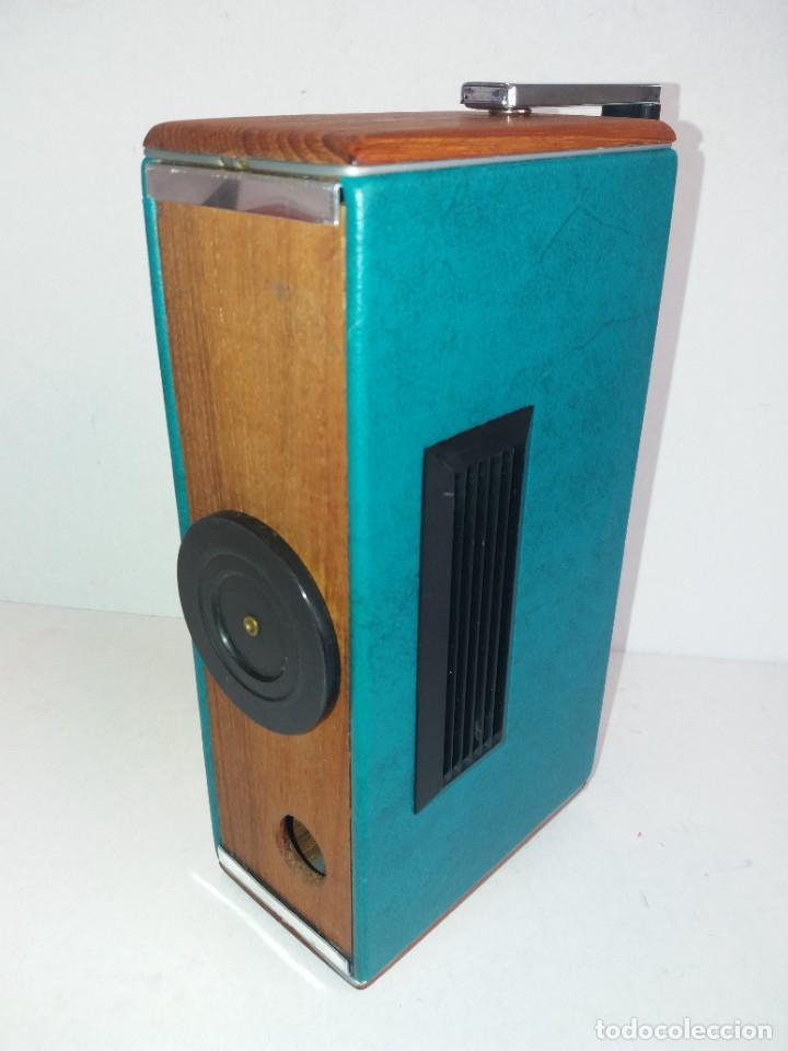 Radios antiguas: PRECIOSO RADIO TRANSISTOR RAMBLER VINTAGE AÑOS 60s - Foto 19 - 260093330