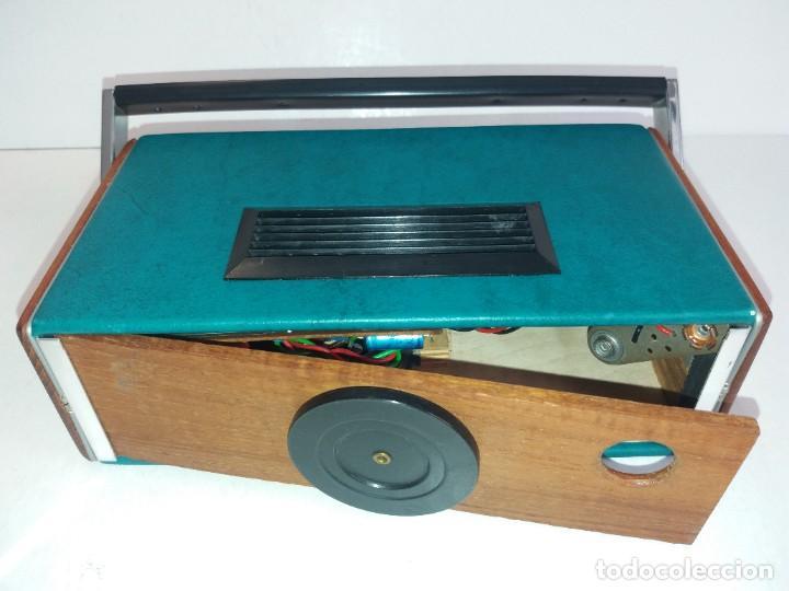 Radios antiguas: PRECIOSO RADIO TRANSISTOR RAMBLER VINTAGE AÑOS 60s - Foto 22 - 260093330