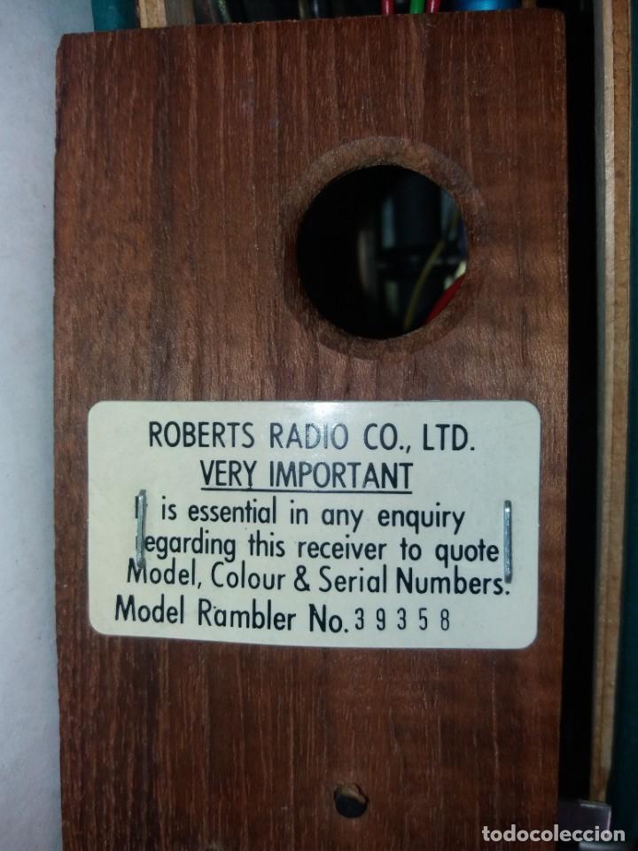 Radios antiguas: PRECIOSO RADIO TRANSISTOR RAMBLER VINTAGE AÑOS 60s - Foto 25 - 260093330