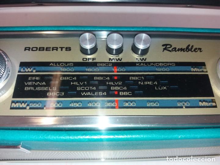 Radios antiguas: PRECIOSO RADIO TRANSISTOR RAMBLER VINTAGE AÑOS 60s - Foto 29 - 260093330