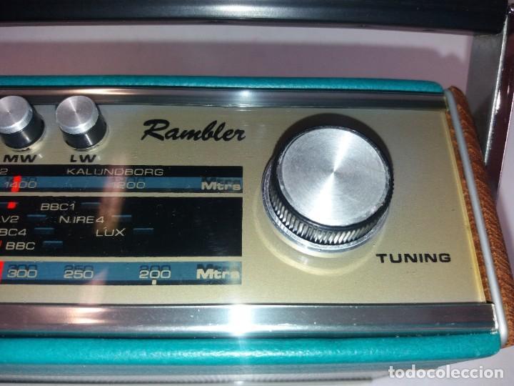 Radios antiguas: PRECIOSO RADIO TRANSISTOR RAMBLER VINTAGE AÑOS 60s - Foto 30 - 260093330
