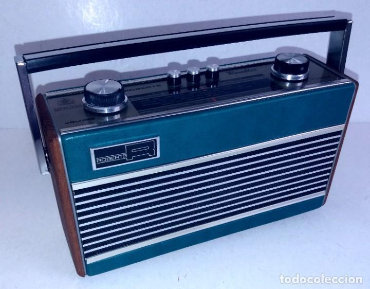 Radios antiguas: PRECIOSO RADIO TRANSISTOR RAMBLER VINTAGE AÑOS 60s - Foto 35 - 260093330