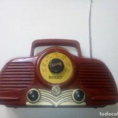 Radios antiguas: RADIO SOGO. Lote 260360955