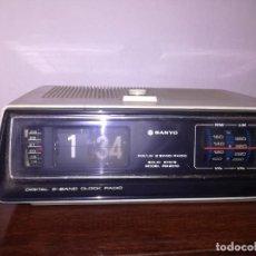 Radio antiche: RADIO DESPERTADOR SANYO VINTAGE. Lote 260376830