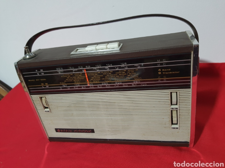 RADIO TRANSISTOR HITACHI . HI - PHONIC (Radios, Gramófonos, Grabadoras y Otros - Transistores, Pick-ups y Otros)
