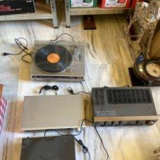 Radios antiguas: LOTE DE APARATOS DE MÚSICA JVC. Lote 261288495