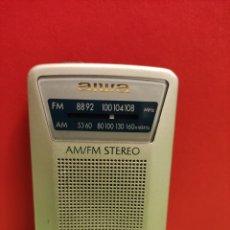 Radios antiguas: RADIO TRANSISTOR AIWA . FUNCIONA. Lote 261622405