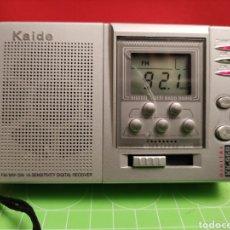 Radios antiguas: RADIO TRANSITOR MULTIBANDA. FUNCIONA. Lote 261622695