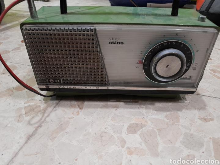 RADIO VANGUARDIA ATLAS (Radios, Gramófonos, Grabadoras y Otros - Transistores, Pick-ups y Otros)
