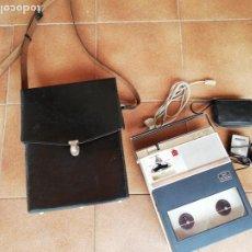 Radios antiguas: GRABADORA ANTIGUA SANYO CON MICRÓFONO. TAPER RECORDERMODEL MR-212.. Lote 262075860