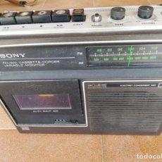 Rádios antigos: SONY CASSETTE-CORDER. CF- 320. RADIO CASSETTE SONY.. Lote 262076225