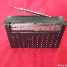 Radios antiguas: ANTIGUA RADIO HERMES 837. Lote 262240315