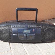 Radios antiguas: RADIO CASSETTE THOMSON TM 9361 CD FUNCIONANDO. Lote 262625510