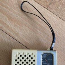 Radios antiguas: RADIO DE BOLSILLO SANYO RP 1250. Lote 262646455