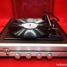 Radios antiguas: TOCADISCOS SONY VINTAGE AÑOS 60. Lote 262692780