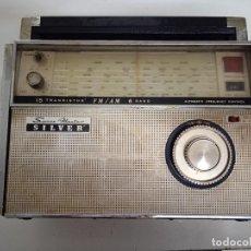 Radios antiguas: TRANSISTOR SILVER MOD. SPACE MASTER.. Lote 262735625