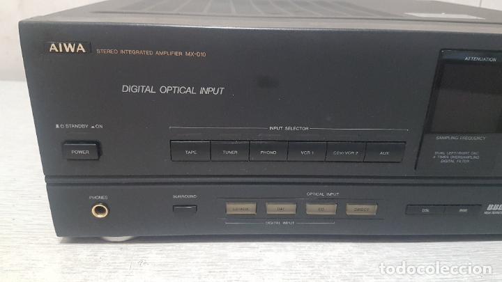 Radios antiguas: AMPLIFICADOR AIWA MX-D10 - Foto 5 - 262905075