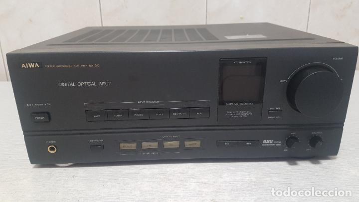 Radios antiguas: AMPLIFICADOR AIWA MX-D10 - Foto 6 - 262905075