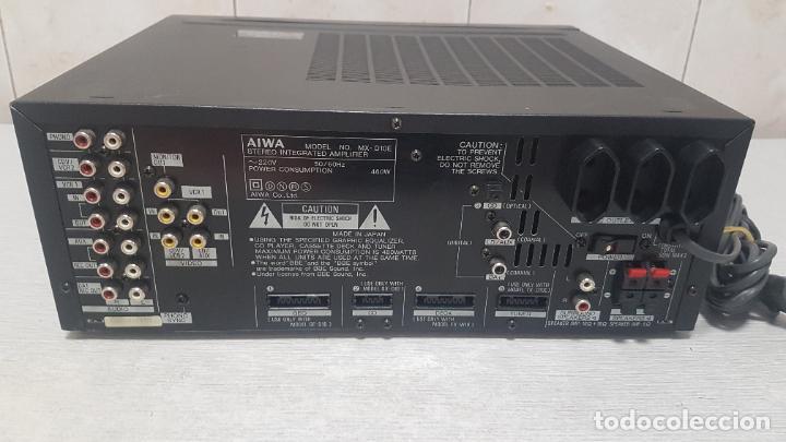Radios antiguas: AMPLIFICADOR AIWA MX-D10 - Foto 10 - 262905075