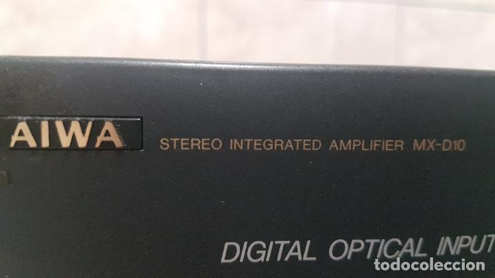 Radios antiguas: AMPLIFICADOR AIWA MX-D10 - Foto 13 - 262905075