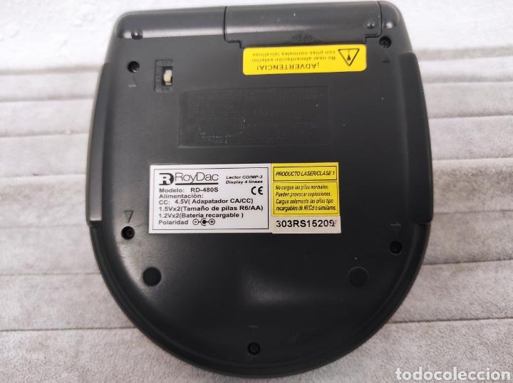 Radios antiguas: PERSONAL COMPACT DISC PLAYER CD/CD-R/CD-RW Compatible ESP RRoyDac RD-480S 480 Seconds Sh - Foto 5 - 262912315