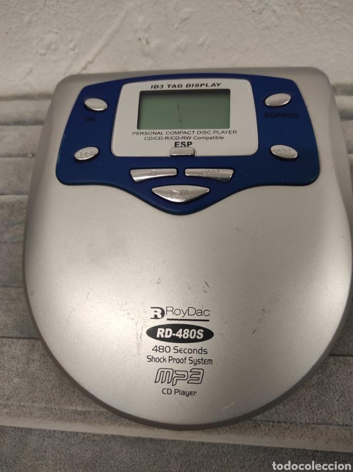 PERSONAL COMPACT DISC PLAYER CD/CD-R/CD-RW COMPATIBLE ESP RROYDAC RD-480S 480 SECONDS SH (Radios, Gramófonos, Grabadoras y Otros - Transistores, Pick-ups y Otros)