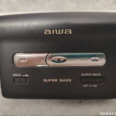 Radios antiguas: AIWA WALKMAN STEREO CASSETTE PLAYER PX 257. Lote 262917500