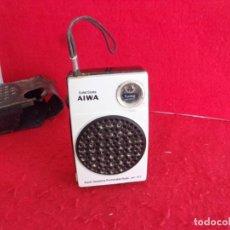 Radios antiguas: ANTIGUO TRANSISTOR AIWA AÑOS 60,FUNCIONANDO. Lote 262927490