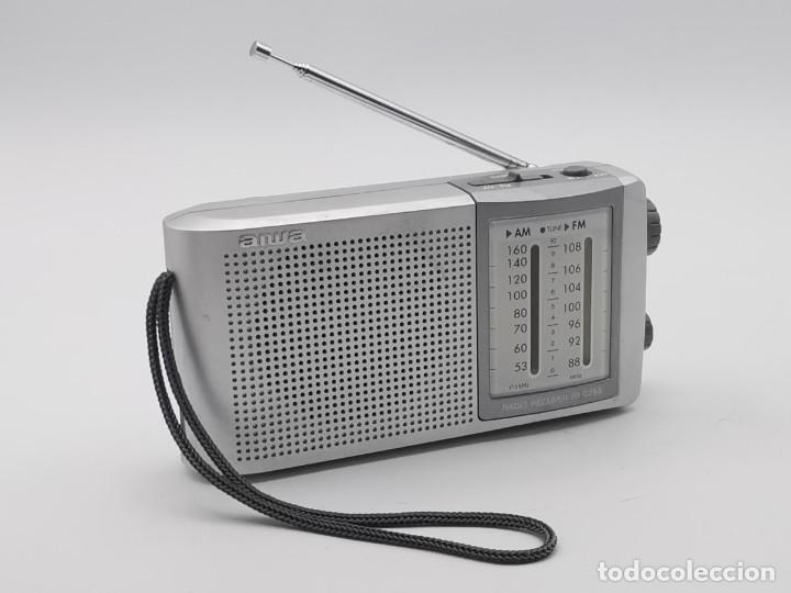 ANTIGUA RADIO TRANSISTOR AIWA, MODEL NÚMERO FR-C250. (Radios, Gramófonos, Grabadoras y Otros - Transistores, Pick-ups y Otros)