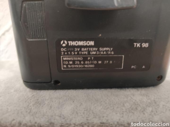 Radios antiguas: THOMSON PERSONAL STEREO CASSETTE TK 98 Auto reverse multi control display radio FM - Foto 3 - 262941160