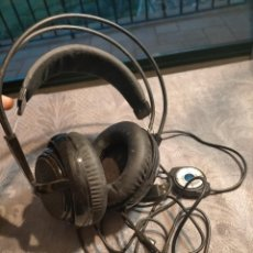Radios antiguas: ANTIGUOS AURICULARES PARA ESCUCHAR MUSICA MARCA ARES AÑOS 90. Lote 263065005