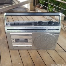 Rádios antigos: RADIOCASETTE PHILIPS D7100. Lote 263163180