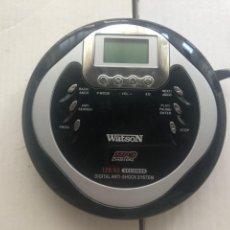 Radios antiguas: DISCMAN WATSON MP3 DIGITAL CD7552M DISCMAN KREATEN DISC MAN. Lote 263588735