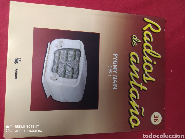 RADIO DE ANTAÑO PYGMY NADA 1951 (Radios, Gramófonos, Grabadoras y Otros - Transistores, Pick-ups y Otros)