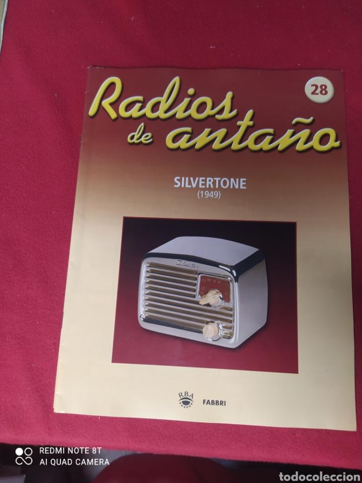 RADIO DE ANTAÑO SILVERSTONE AÑO 1949 (Radios, Gramófonos, Grabadoras y Otros - Transistores, Pick-ups y Otros)