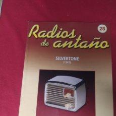Radios antiguas: RADIO DE ANTAÑO SILVERSTONE AÑO 1949. Lote 264806879
