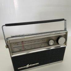 Radios antiguas: VINTAGE RADIO TRANSISTOR SANYO COLORANO. Lote 265341044