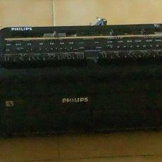 Radios antiguas: RADIO-CASSETTE PHILIPS, AÑOS 80. Lote 265506779
