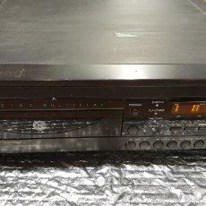 Radios antiguas: SIX DISC CD PHILIPS DIGITAL DEBE REVISAR ATASCADO DENTRO. Lote 265540209