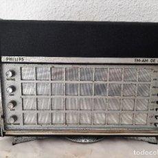 Rádios antigos: RADIO PHILIPS AM-FM DE LUXE. Lote 265849849