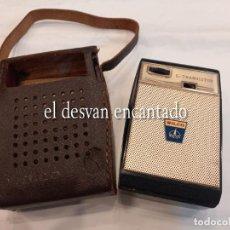Radios antiguas: ANTIGUO TRANSISTOR MARCA WILCO. CON FUNDA ORIGINAL. BUEN ESTADO. VER FOTOS. Lote 265946008