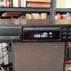 Radios antiguas: SINTONIZADOR JVC FX 362 BUEN ESTADO COMO NUEVO ANTIGÜEDADES COLECCIONISMO COLISEVM DISCOS. Lote 266062958